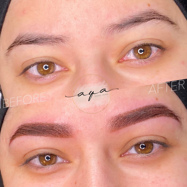 Powdered Brows Before And After 2